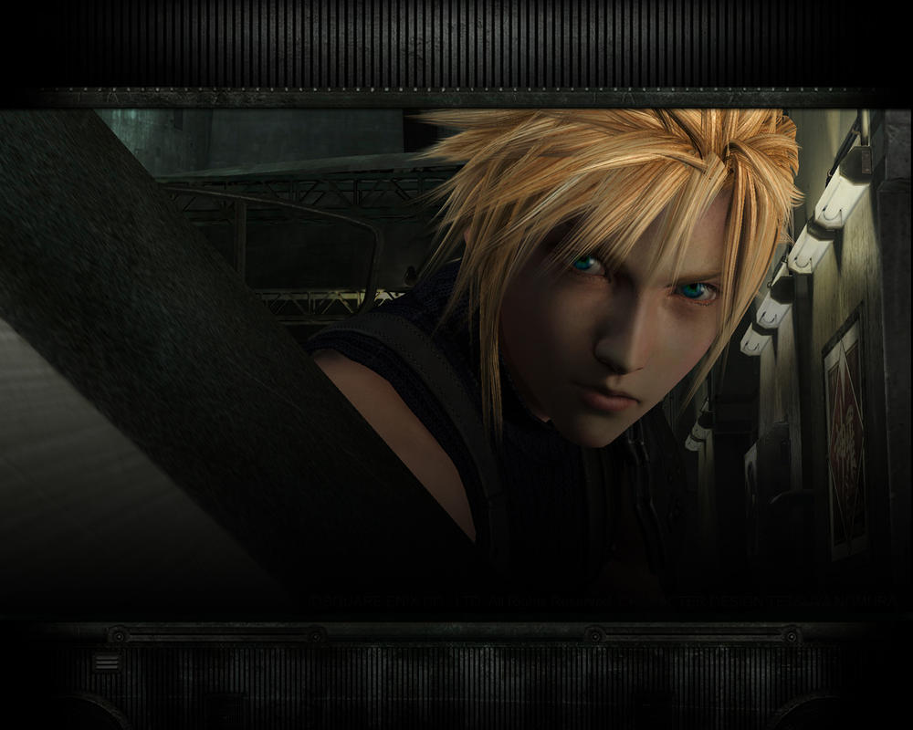 cloud strife wallpaper by sorius14 on deviantart