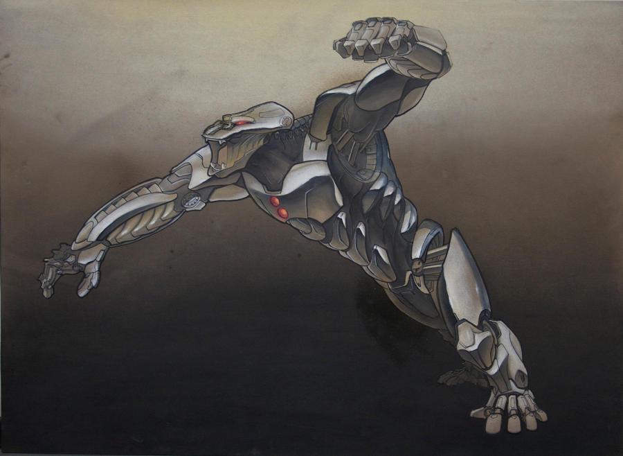 Gorilla Mech concept by dfdrews