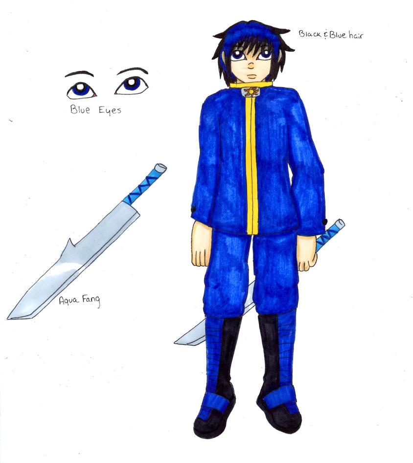 Fuuya's Reference - 2014 by Elainatehkitty
