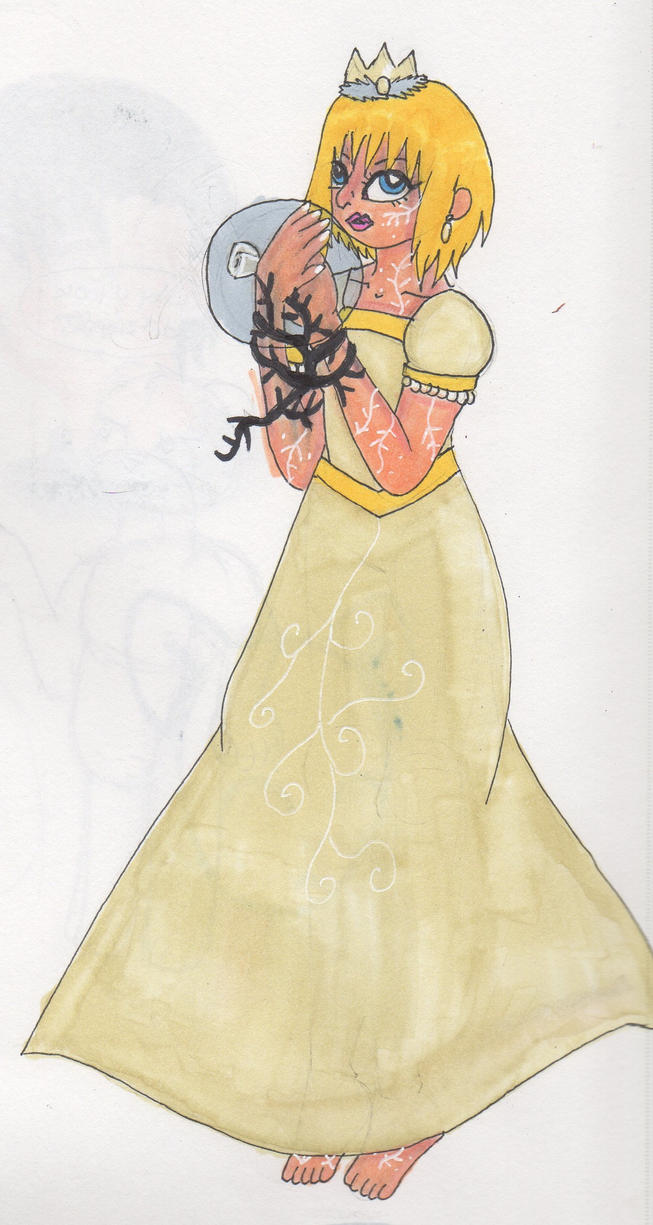 Character Designs - Queen Bianca of White by Elainatehkitty