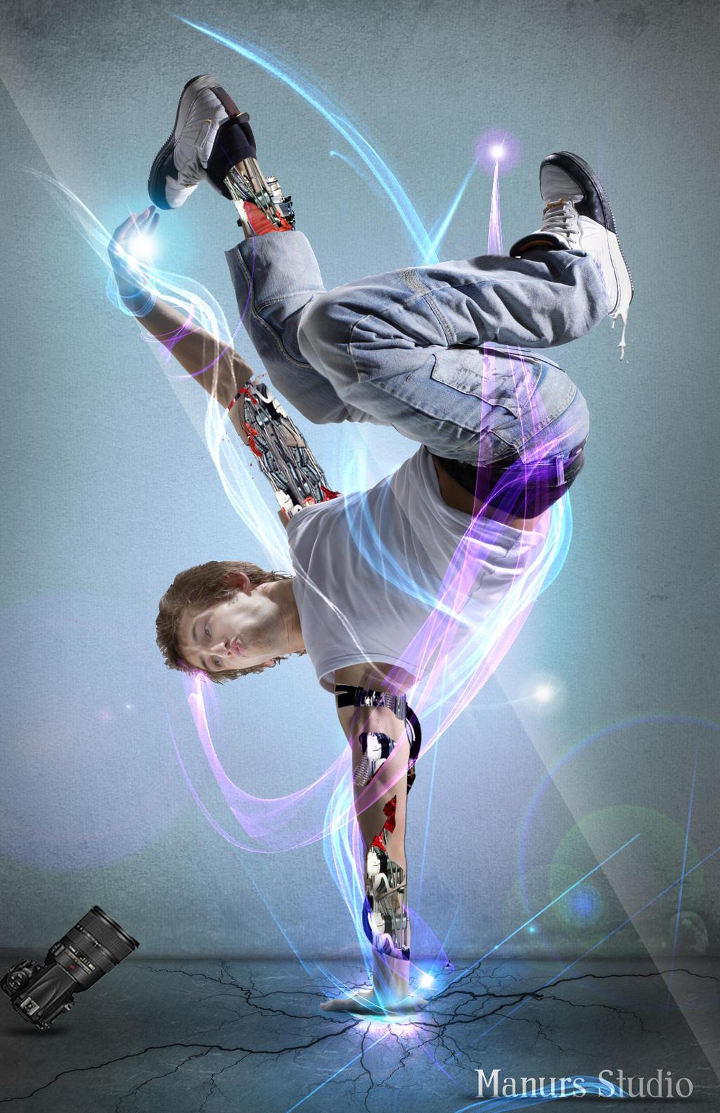 The Power Breakdance by ManursStudio