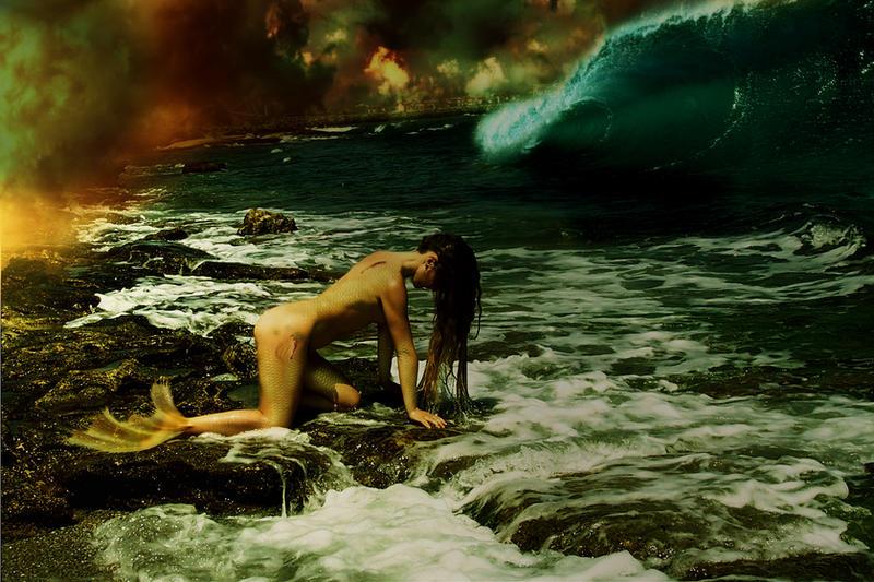 Mermaid Transformation By Vanesagarkova On DeviantArt