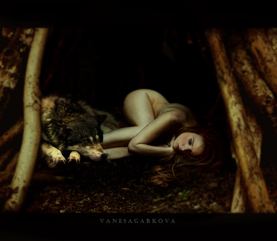 wolf by vanesagarkova