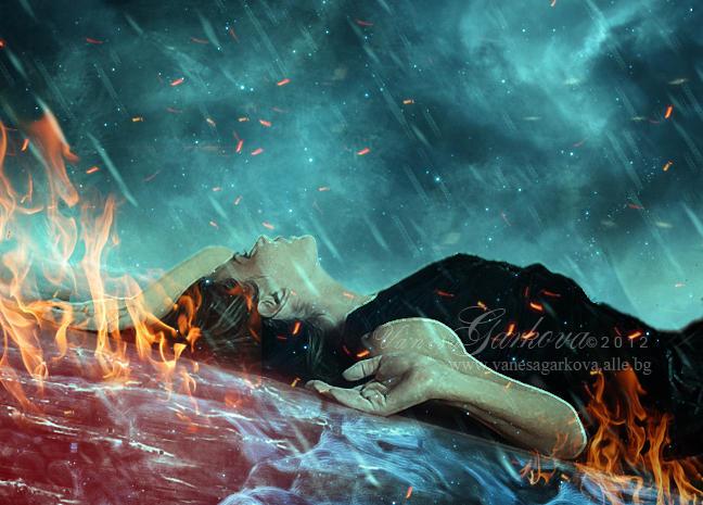 Set Fire To The Rain by vanesagarkova