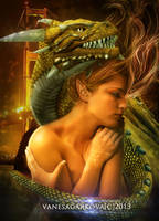 Dragon girl by vanesagarkova