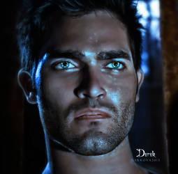Derek Hale 2 by vanesagarkova