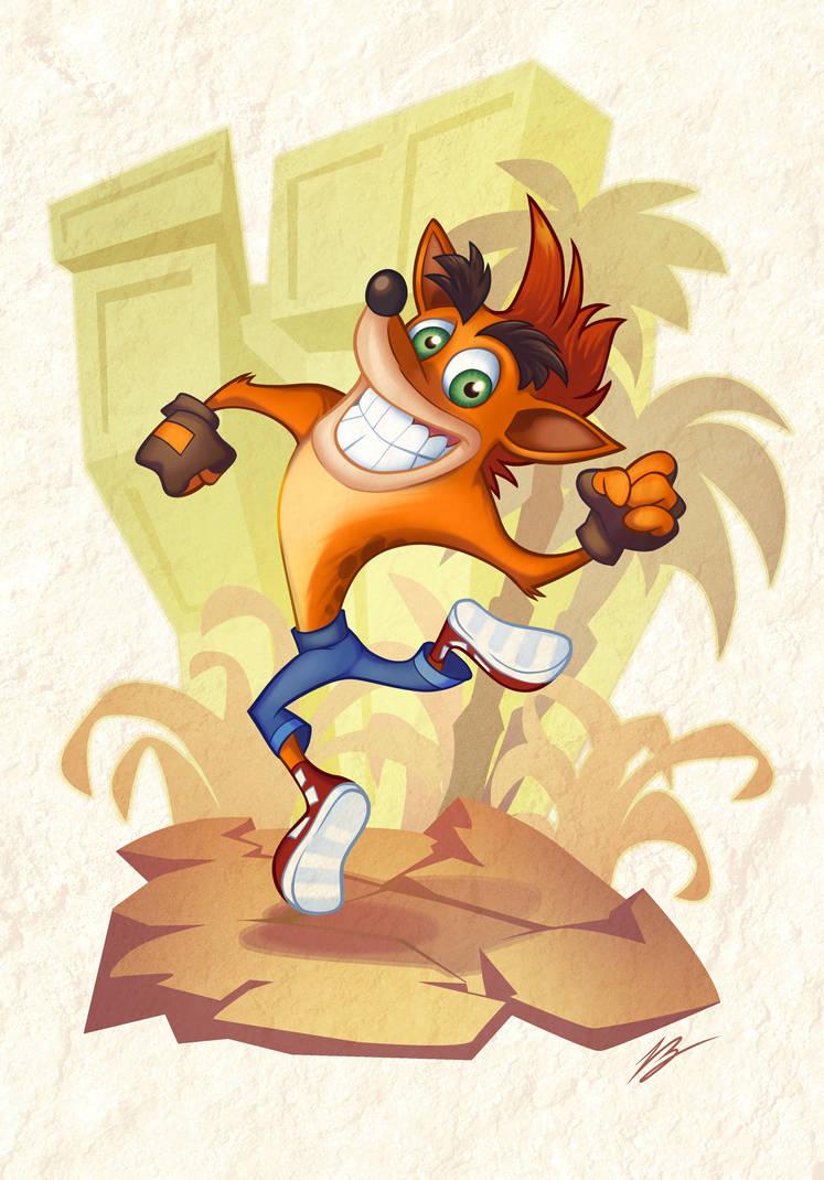 Crash Bandicoot!!