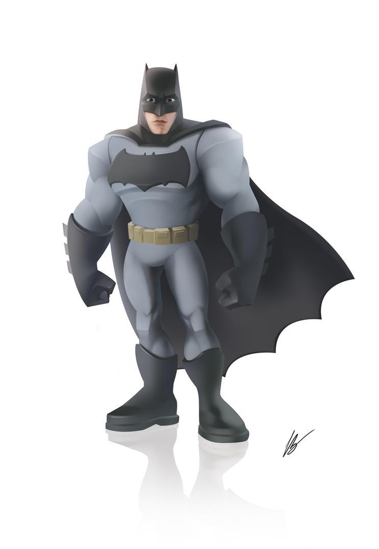 Batman Disney Infinity Style By Dreelrayk On Deviantart