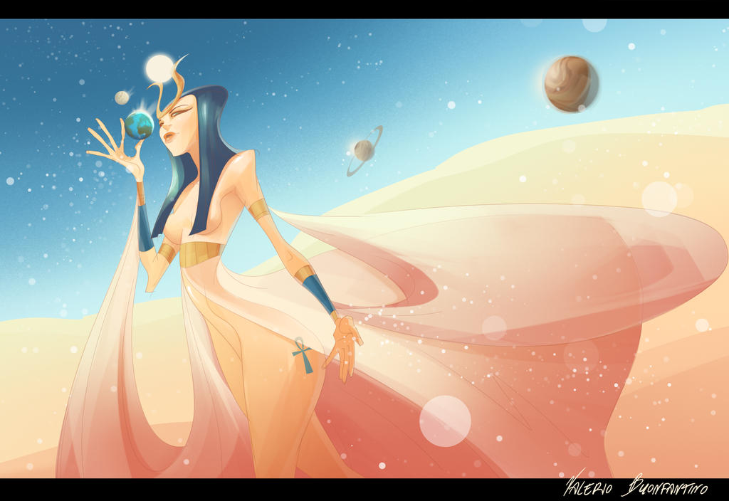 Goddes Hathor by dreelrayk