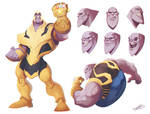 Thanos by dreelrayk