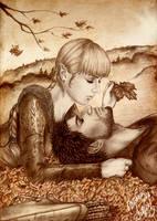 Honey autumn for Bishop by Isbjorg