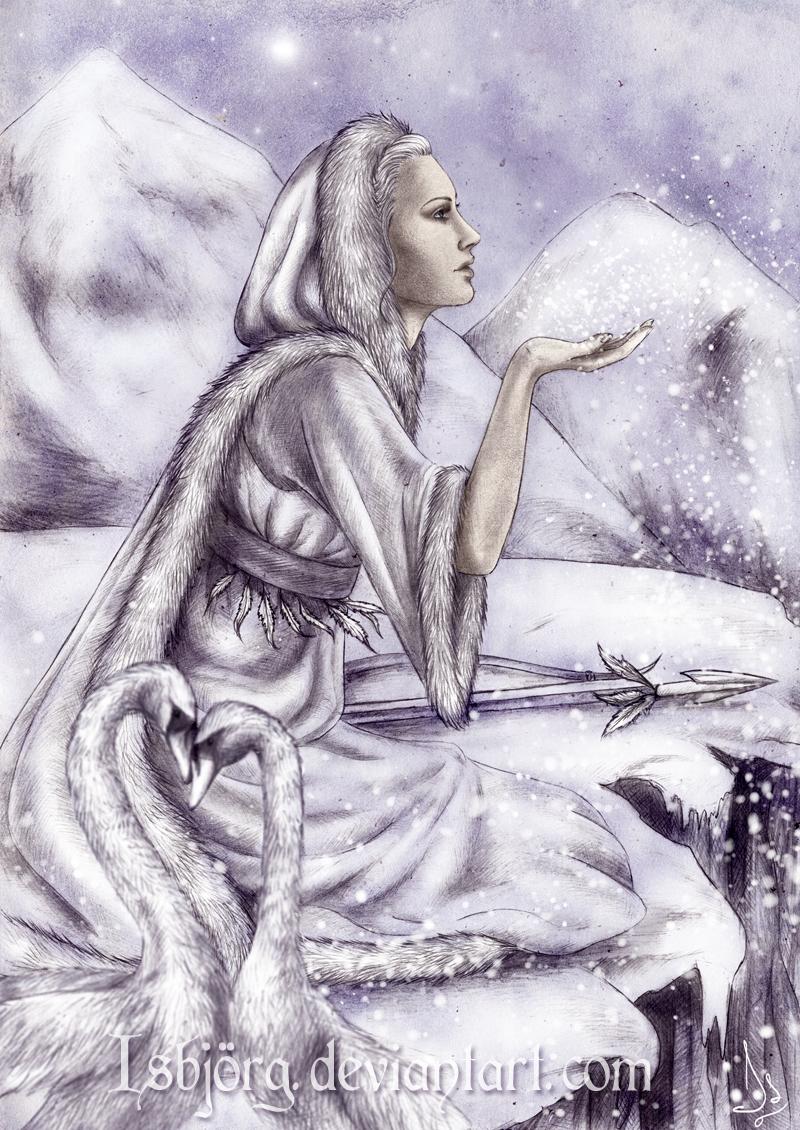 The White Goddess by Isbjorg
