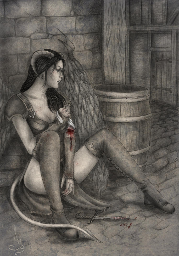 Demon's blood by Isbjorg