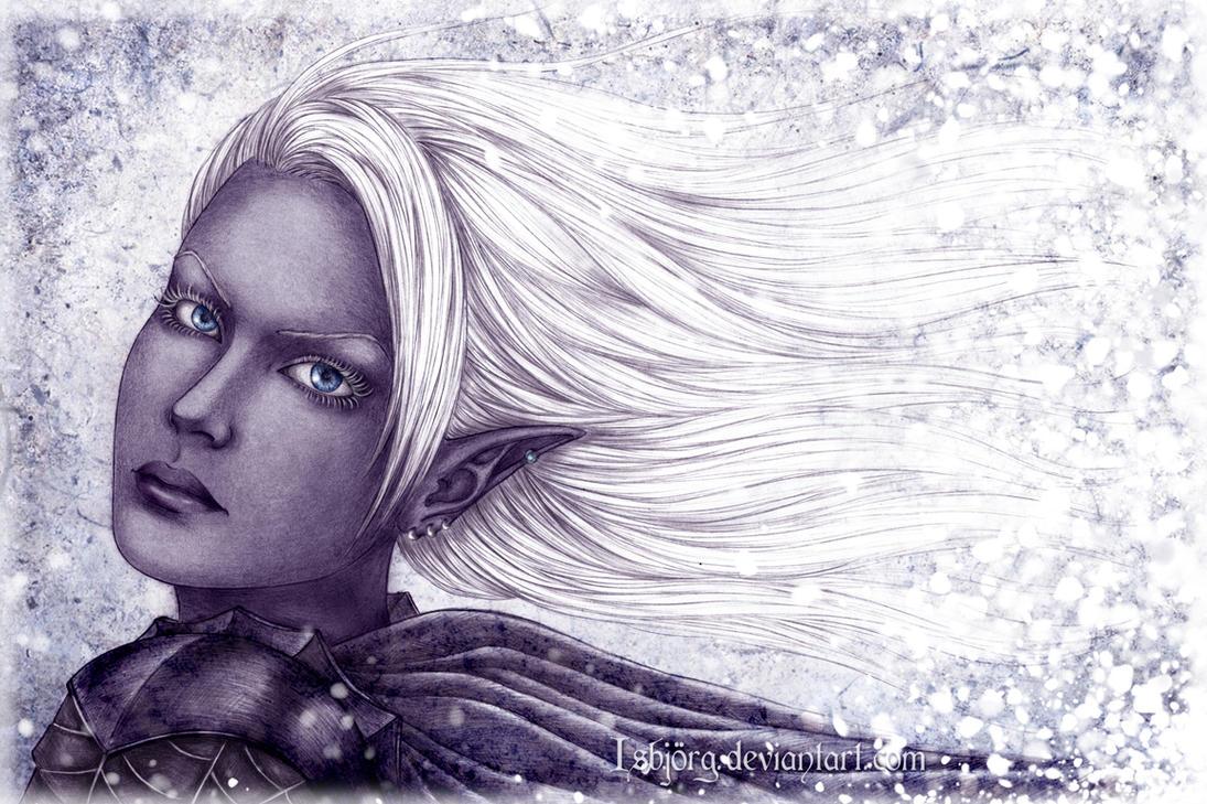 Snow Drow by Isbjorg