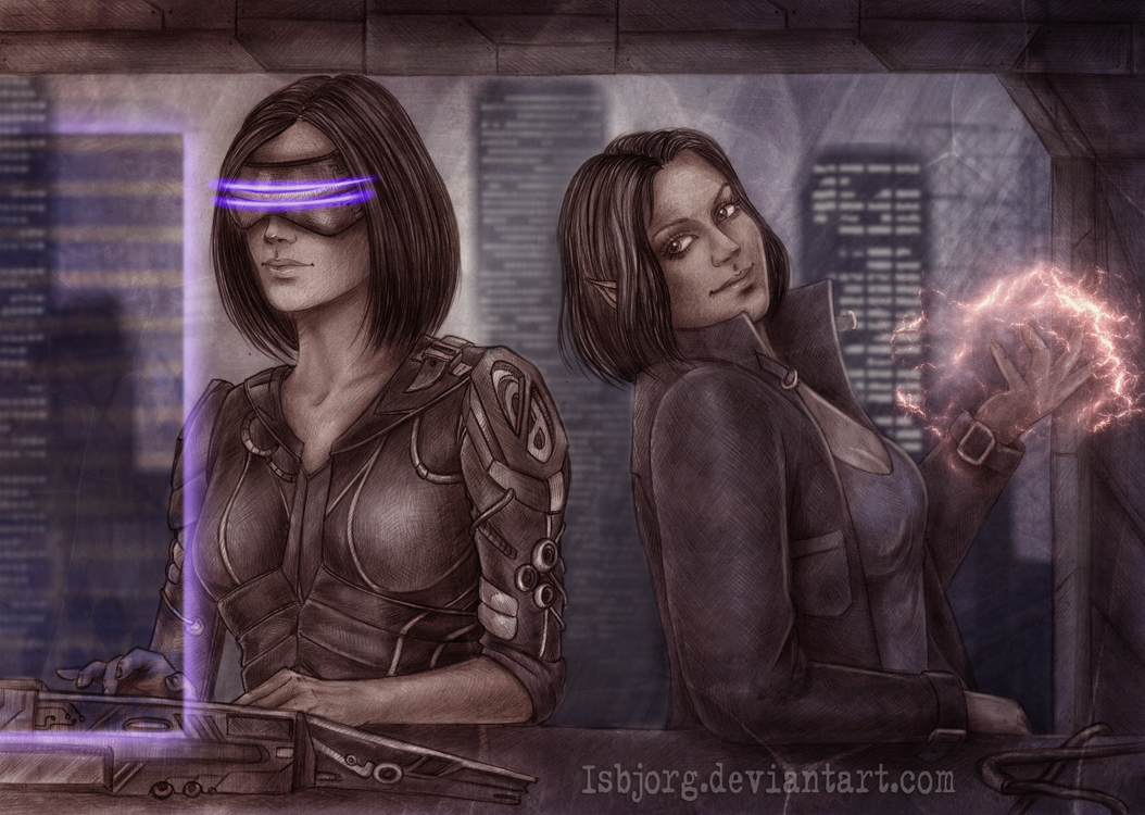 Shadowrun Returns by Isbjorg