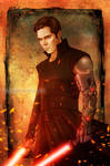 Sith Lord Krycek by Isbjorg