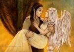 Kivan and Keyria by Isbjorg