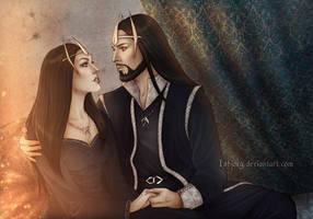 Einar and Jenova by Isbjorg