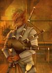 Commission : Copper Dragonborn