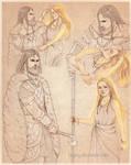 Sketch set : Ember and Hulgren