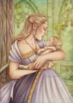 Commission : Mother and child