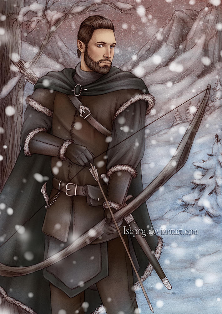 Commission : winter dusk