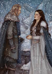 Commission : Winter Wedding