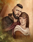 Commission : couple portrait