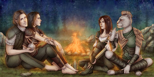 Commission : Campfire