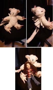 Velvet and Elisa dolls