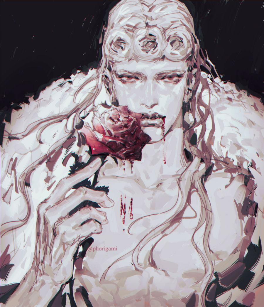 Vampire Gio for my DTIYS on insta (@phorigami)