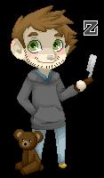 Zedd Pixel Doll by PervyJrocker