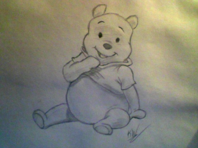 Pooh Bear  WIP by KayceeMuffins on DeviantArt