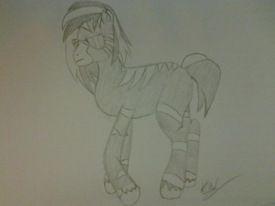 Metal pony request by KayceeMuffins