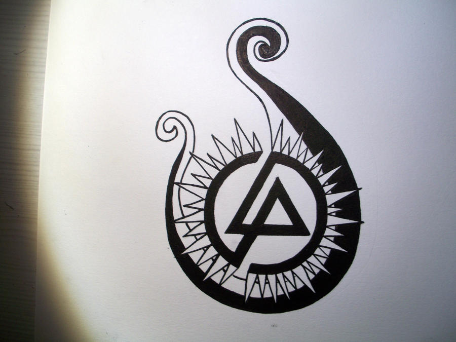 linkin park 39 s tattoo by glowskin on deviantart. Black Bedroom Furniture Sets. Home Design Ideas