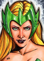 Enchantress sketch card by inARTia