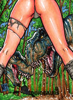 Damsels and Dinosaurs Return by inARTia