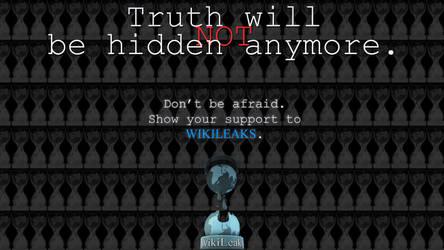 Support Wikileaks by dandakobajai