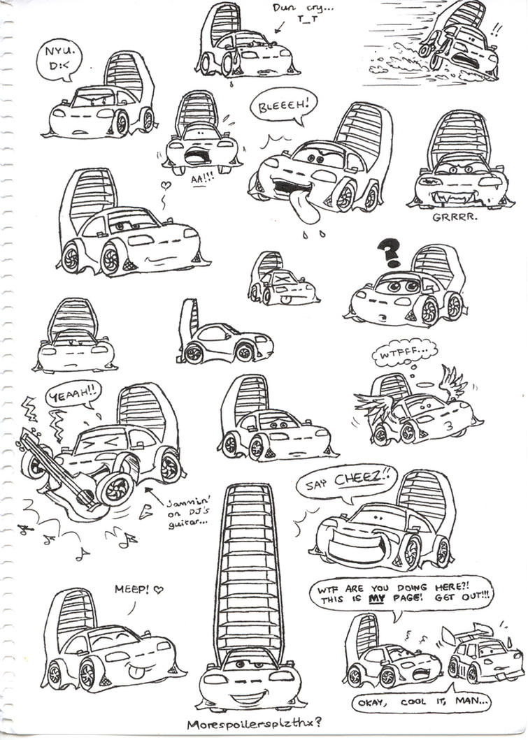 Wingo invaded the page by candy coupe on deviantart - Coloriage cars wingo ...