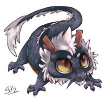 Baby dragon, all credit goes to Suikuzu-d5df3zk by Mikrox