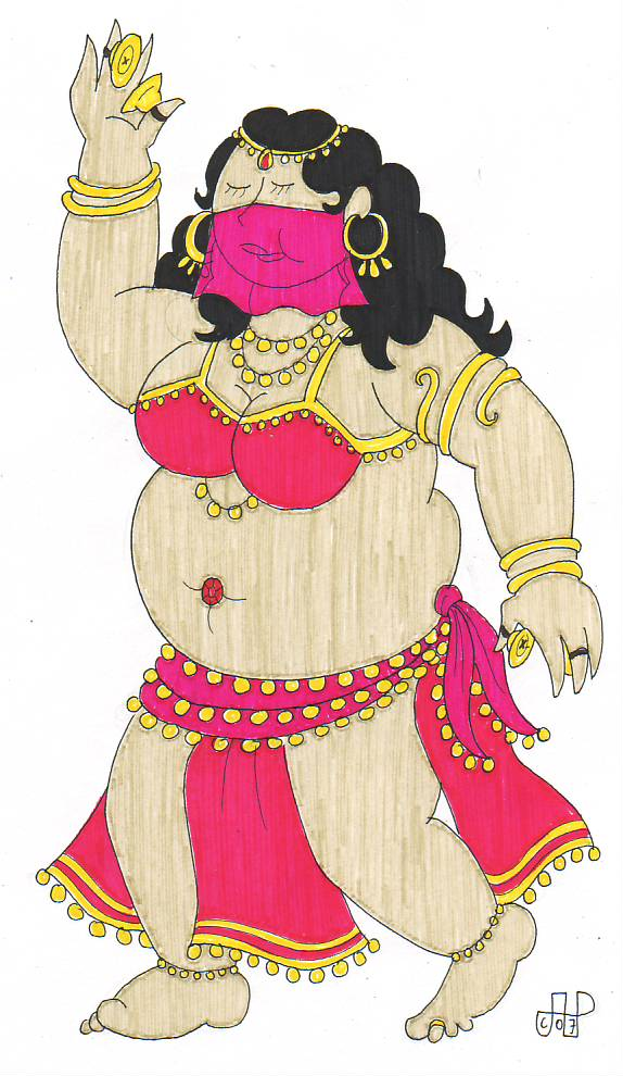 fat belly dancer funny