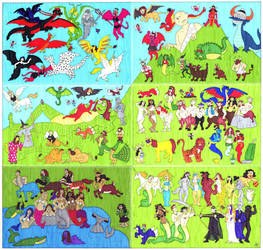 Deviant Creatures by EmperorNortonII