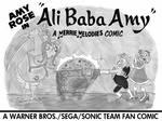 Ali Baba Amy Lobby Card B+W by EmperorNortonII