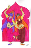 Harem Daphne and Velma by EmperorNortonII