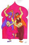 Harem Daphne and Velma