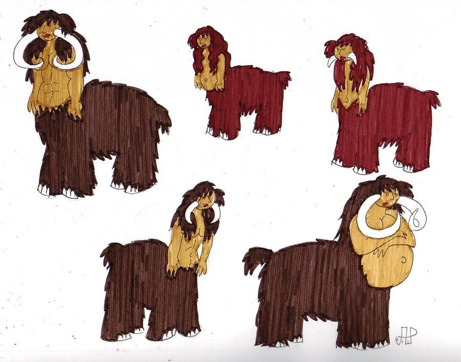 SSU Subraces: Mammoth Centaurs by EmperorNortonII on DeviantArt