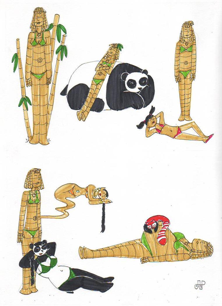 SSU Subraces: Bamboo Golems by EmperorNortonII