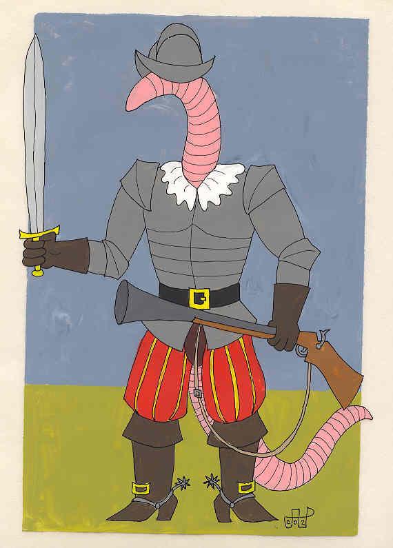 Conqueror Worm by EmperorNortonII