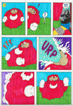 Giant Bloated Knuckles Part II Page 1