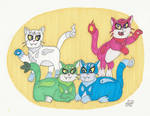 The Elemental Cats